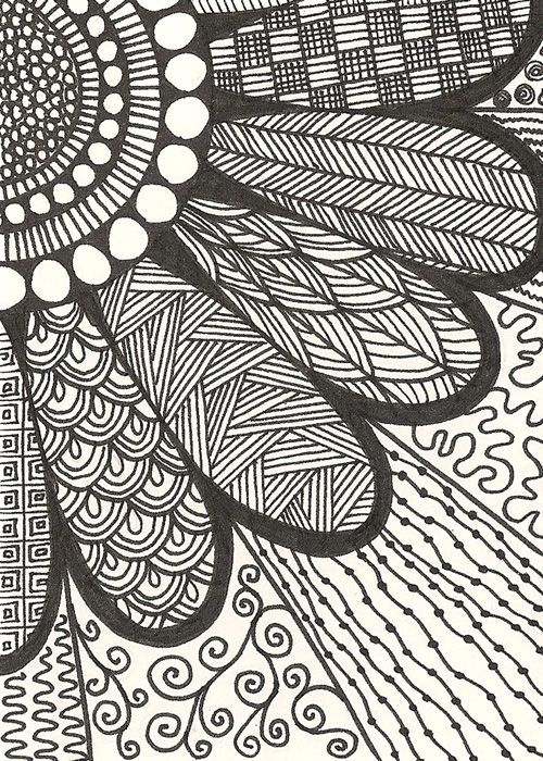 Drawn pattern Best doodle 20+ con patterns