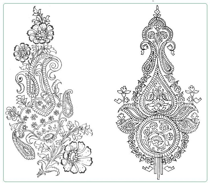 Drawn pattern indian The Pinterest ideas Indian Textile