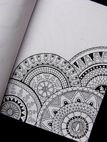 Drawn pattern Lots size/shaped of patterns 25+