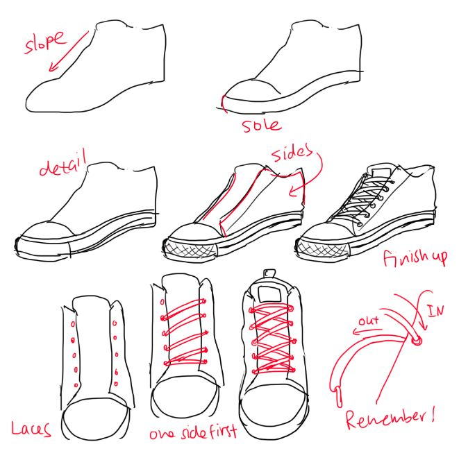 Drawn shoe drawing Best on drawing ideas hope