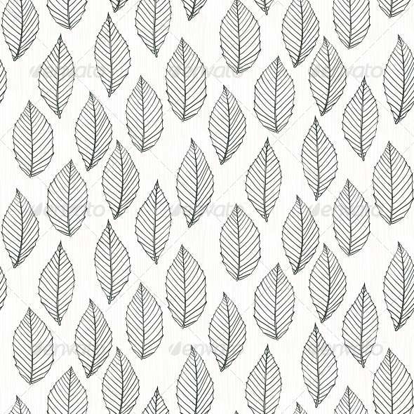 Drawn background fruit With Patterns with Leafs Elegant