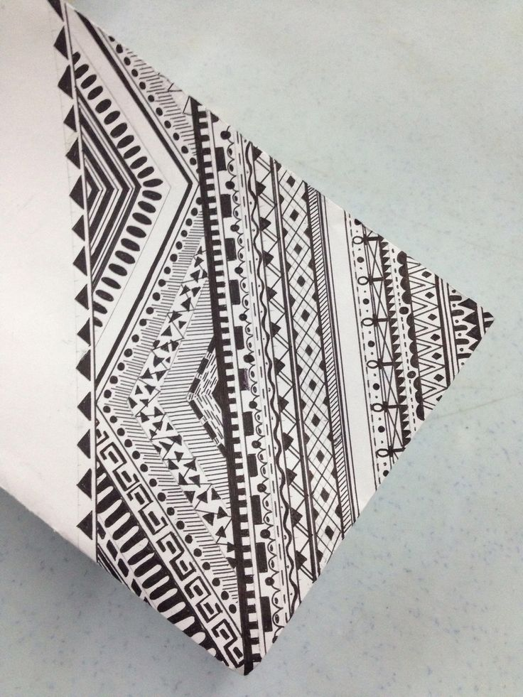 Drawn pattern tumblr drawing Drawing Best on drawing Aztec