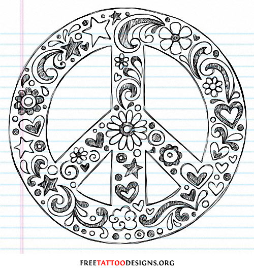 Drawn peace sign two finger Peace drawing drawing tattoos tattoo