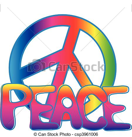 Drawn peace sign 70's And PEACE Art drawn PEACE