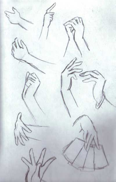 Drawn peace sign anime hand Tutorials Draw How Anime hands