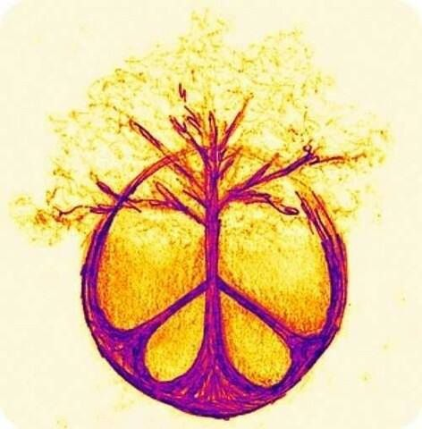 Drawn peace sign awesome Hippie Sign American ☮ ideas