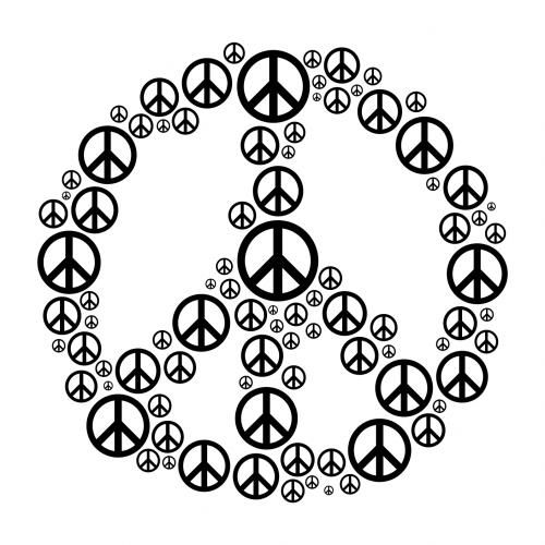 Drawn peace sign awesome Hippie Peace American Art peace