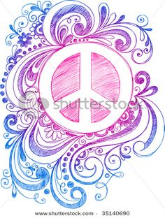 Drawn peace sign awesome One Sign I Peace