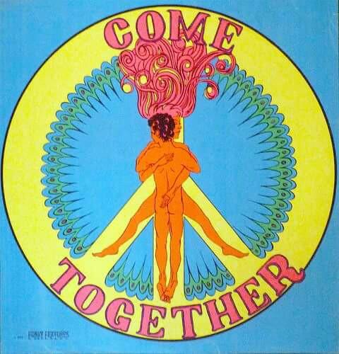 Drawn peace sign beatles Come Art Hippie ☮ ☮