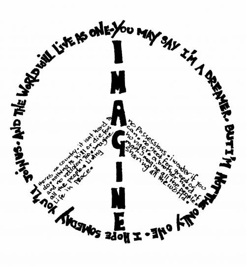 Drawn peace sign beatles About peace on Pinterest sign