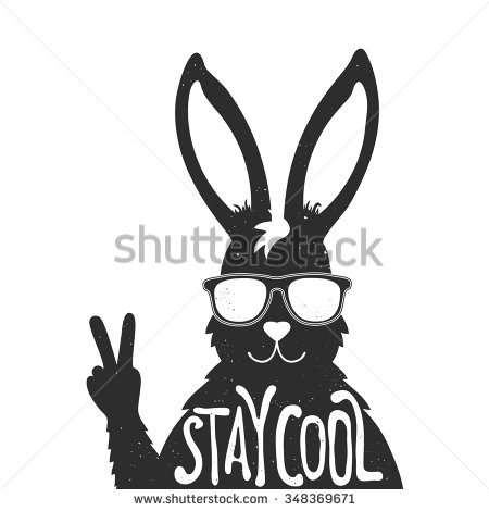 Drawn peace sign black and white Sign cool stylish Vector