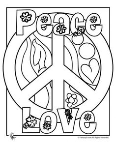 Drawn peace sign color Artwork you Find more print