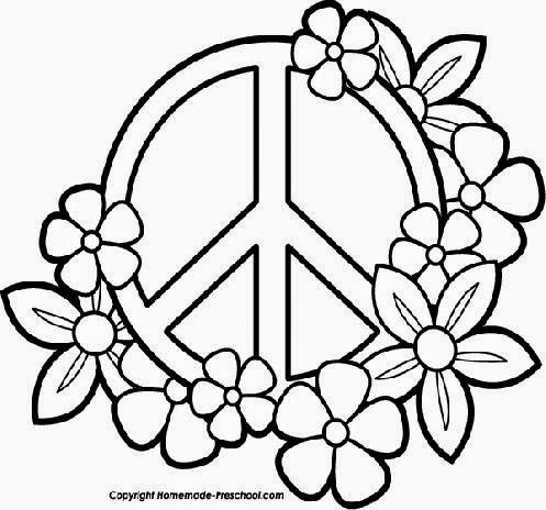 Drawn peace sign color Find more Sign corner Peace