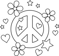 Drawn peace sign color Image in/Coloring/peace Pages – Coloring