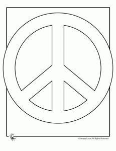 Drawn peace sign color Peace free pages Search you
