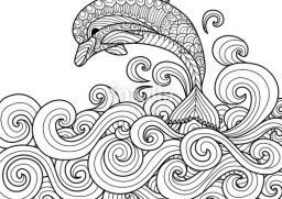 Drawn peace sign coloring picture Pages Hand drawn Coloring sea
