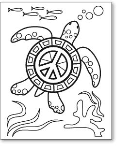 Drawn peace sign coloring picture Images Find this on Coloring