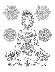 Drawn peace sign coloring picture Printable Yoga and Peace adults: