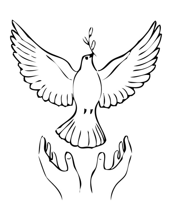 Drawn peace sign coloring picture Coloring peace symbol Free page