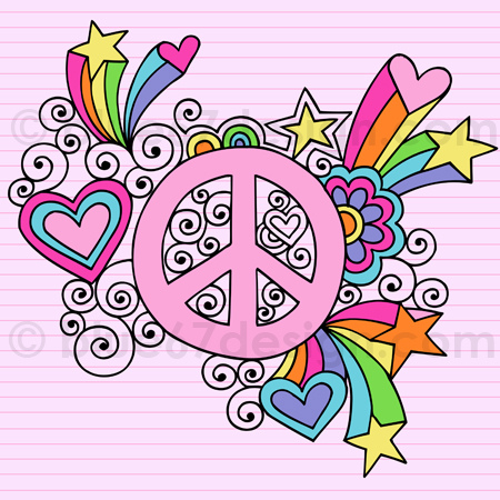 Drawn peace sign creative Flickr Drawn Peace Notebook Doodle