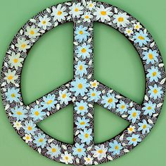 Drawn peace sign cute Original Peace Silver Artwork