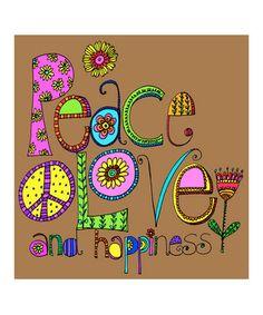 Drawn peace sign cute Sticker ☮ Cute from Peace