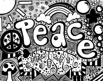 Drawn peace sign facebook CRAFT 4 images this A