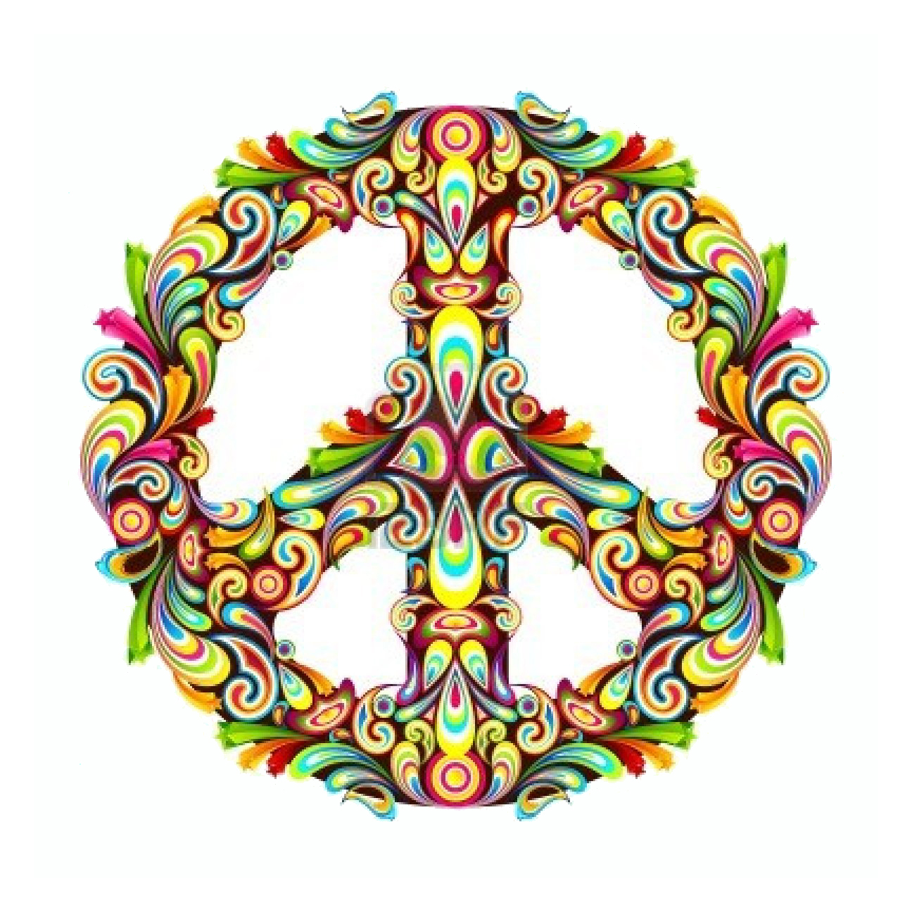 Drawn peace sign freedom Old sign World 50 years