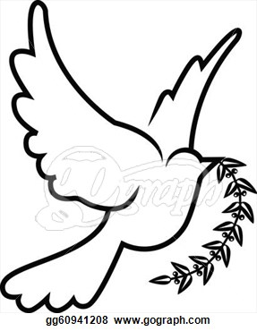 Drawn peace sign freedom Drawings hope Pinterest Illustrations Dove