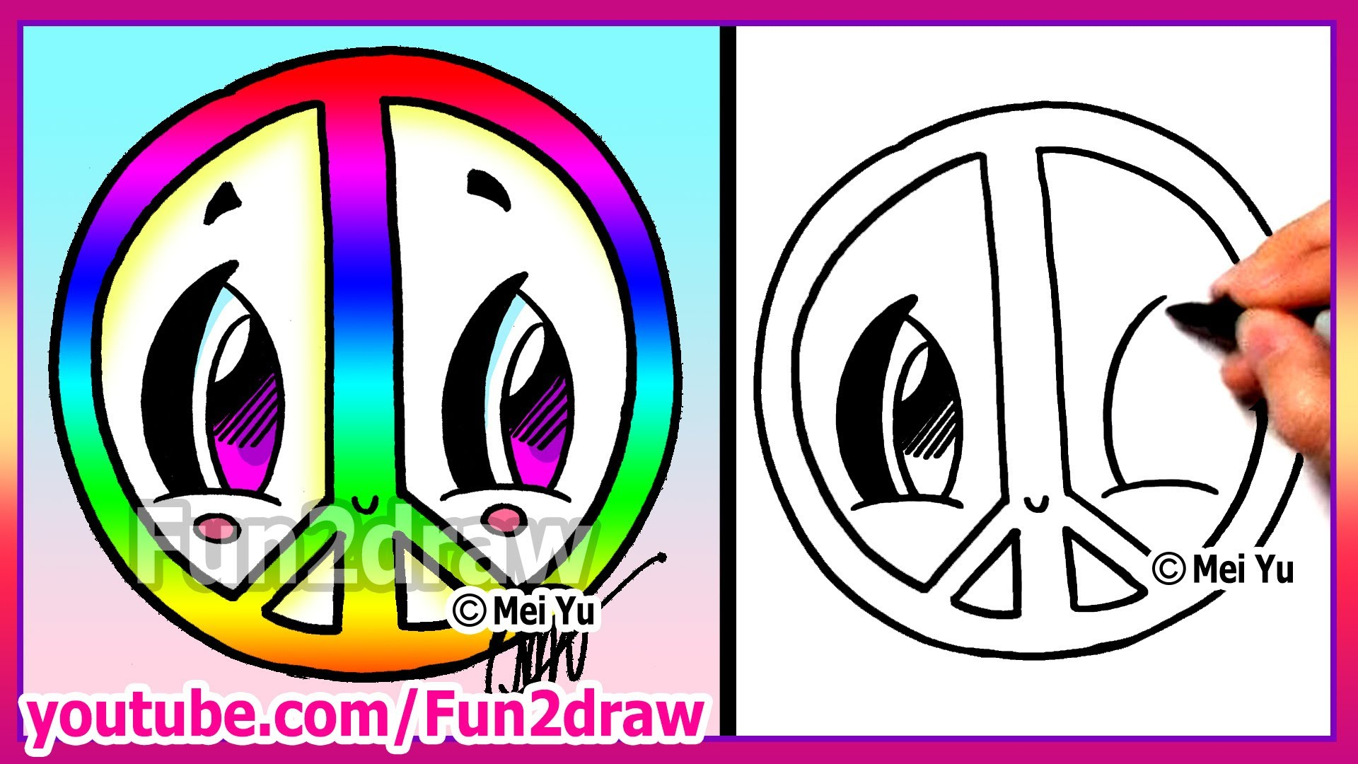 Drawn pumpkin rainbow Draw  to Draw Easy