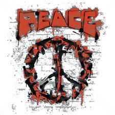 Drawn peace sign graffiti Graffiti Peace  Sign