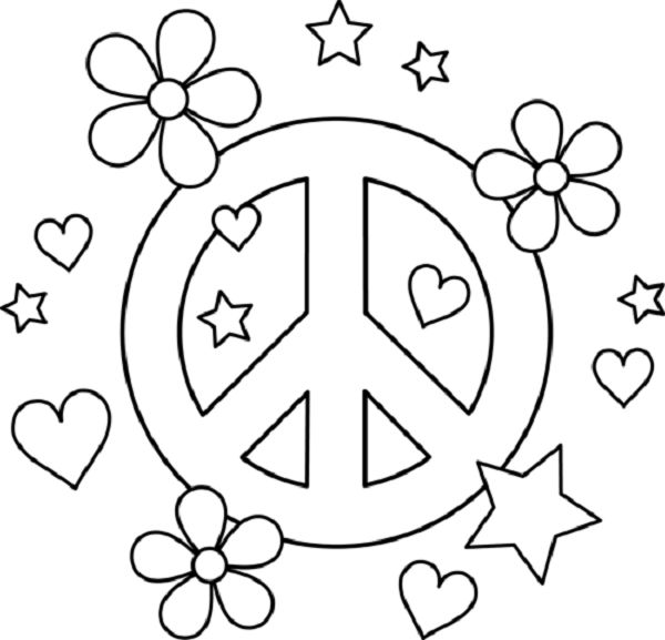 Drawn peace sign groovy Pinterest this SIGN TAM PEACE