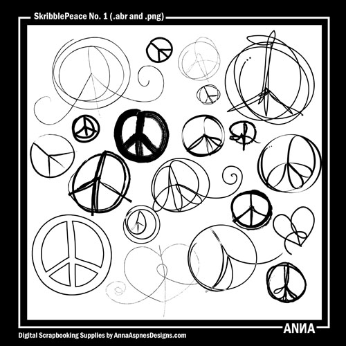 Drawn peace sign hand drawing Delivered New the Anna Oscraps