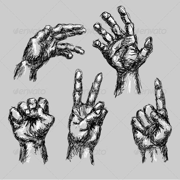 Drawn peace sign hand drawing About best 12 Search hand