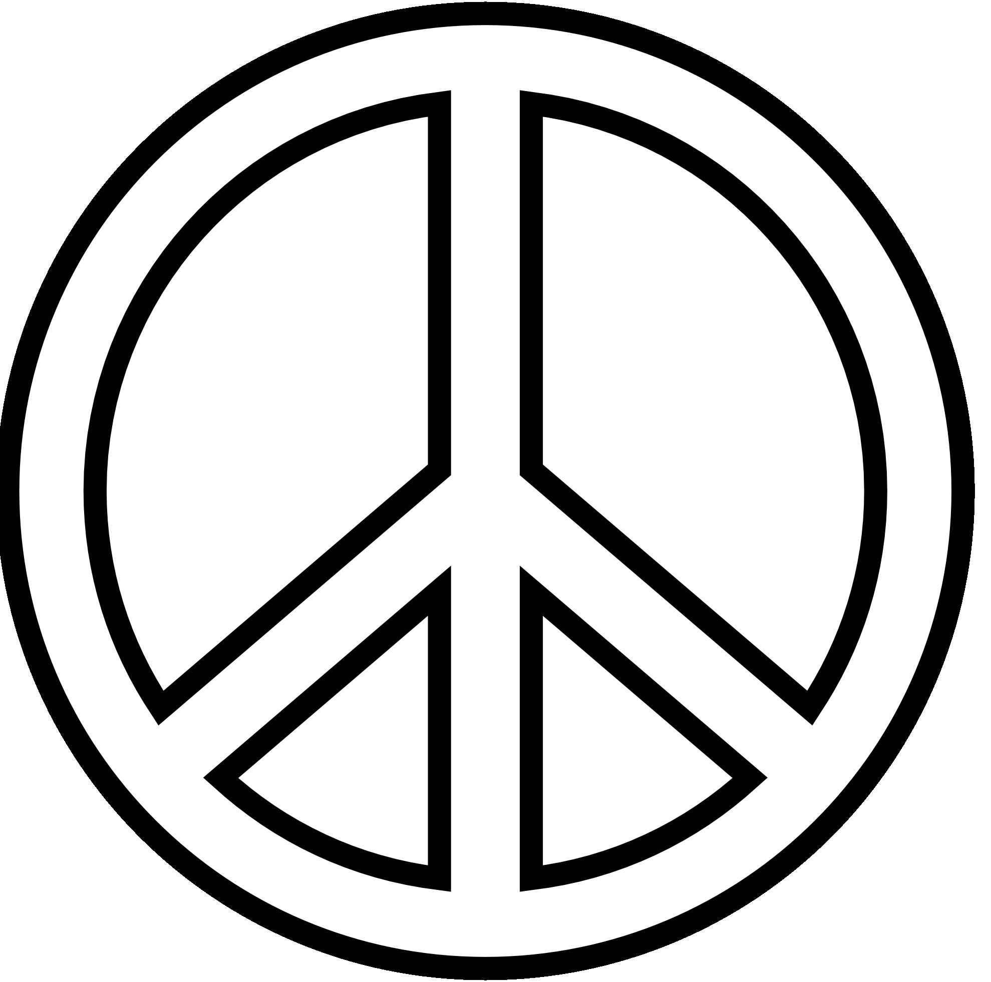 Drawn peace sign jari Blue Peace peace – Photos