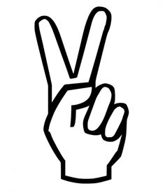 Drawn peace sign jari Decal iPad Prevent Peace and