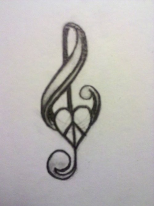 Drawn peace sign peace and love Pinterest like tattoo Best on