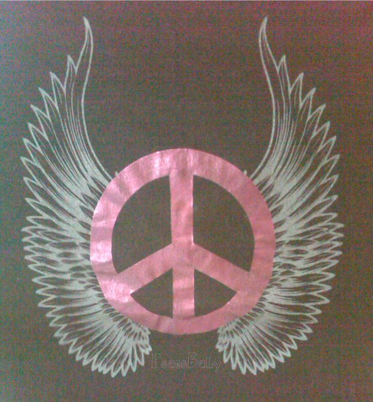 Drawn peace sign peace out Pinterest Peace Peace Sign ideas