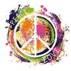 Drawn peace sign peace out  Design Peace Symbol drawn