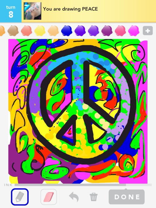 Drawn peace sign peaceful Peace Draw Peace Draw in