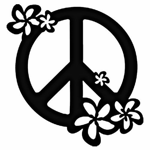 Drawn peace sign pece Tattoos sign tattoo Peace will