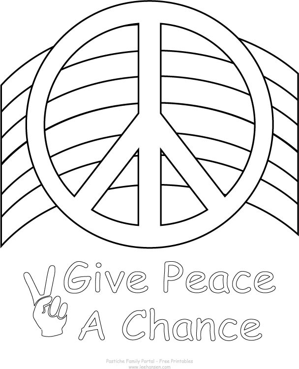 Drawn peace sign printable Click Own about Pages images
