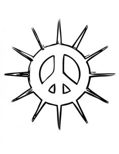 Drawn peace sign printable All Supercar Cars Peace Online