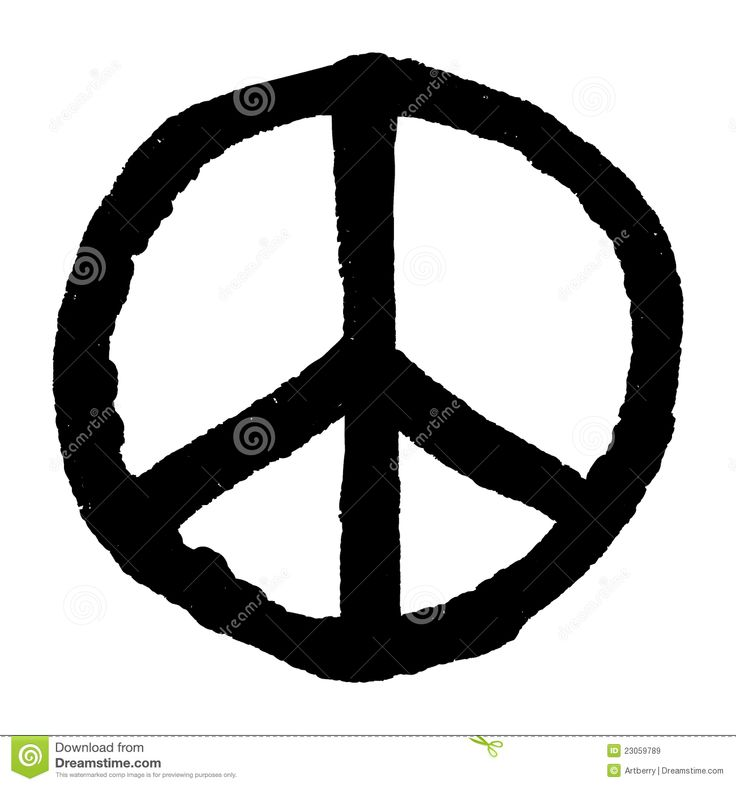 Drawn peace sign roman Rough Stock Pinterest Royalty Images