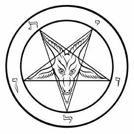 Pentagram clipart element The salute know gram that