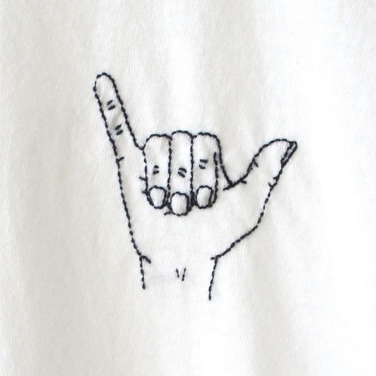 Drawn peace sign simple #6