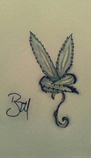 Drawn pot plant badass More peace Book✍ and Find