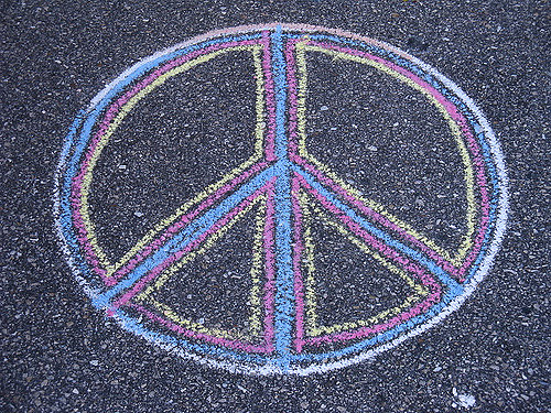Drawn peace sign violence Srqpix by by Kevin drawn