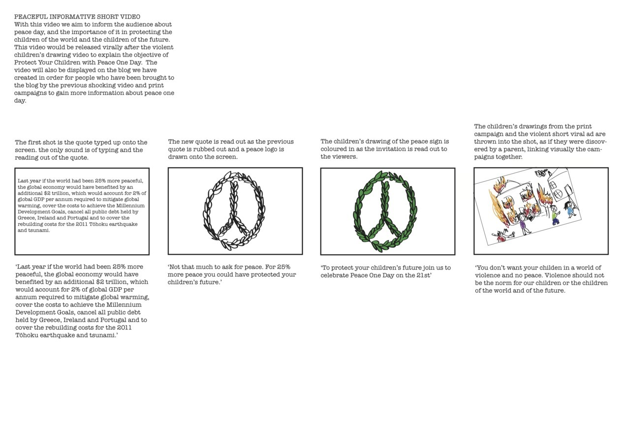 Drawn peace sign violence Future Their 5 Protect ago