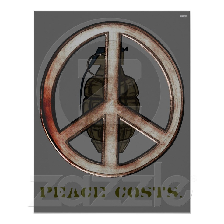 Drawn peace sign war About Pinterest on & War